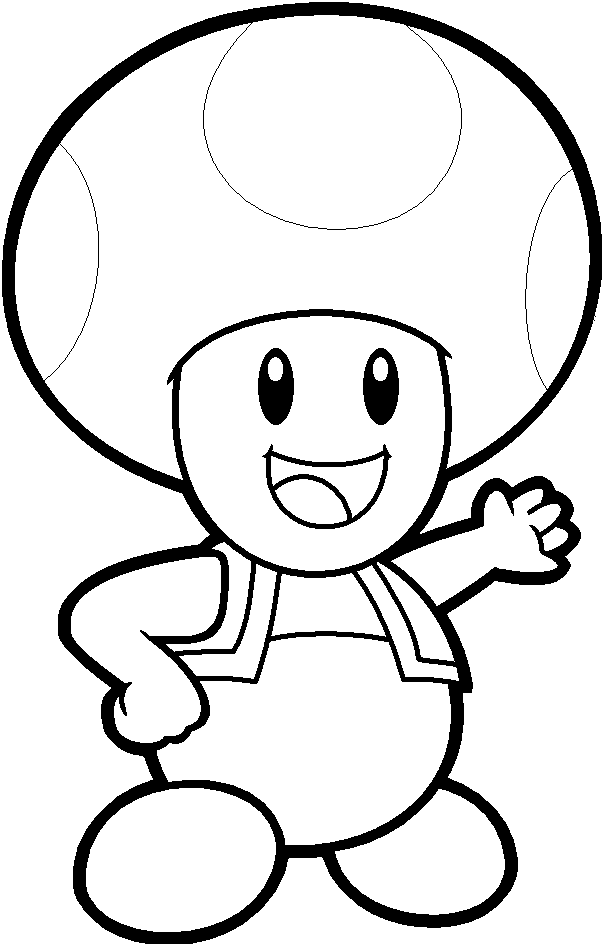 captain toad coloring pages - photo#16