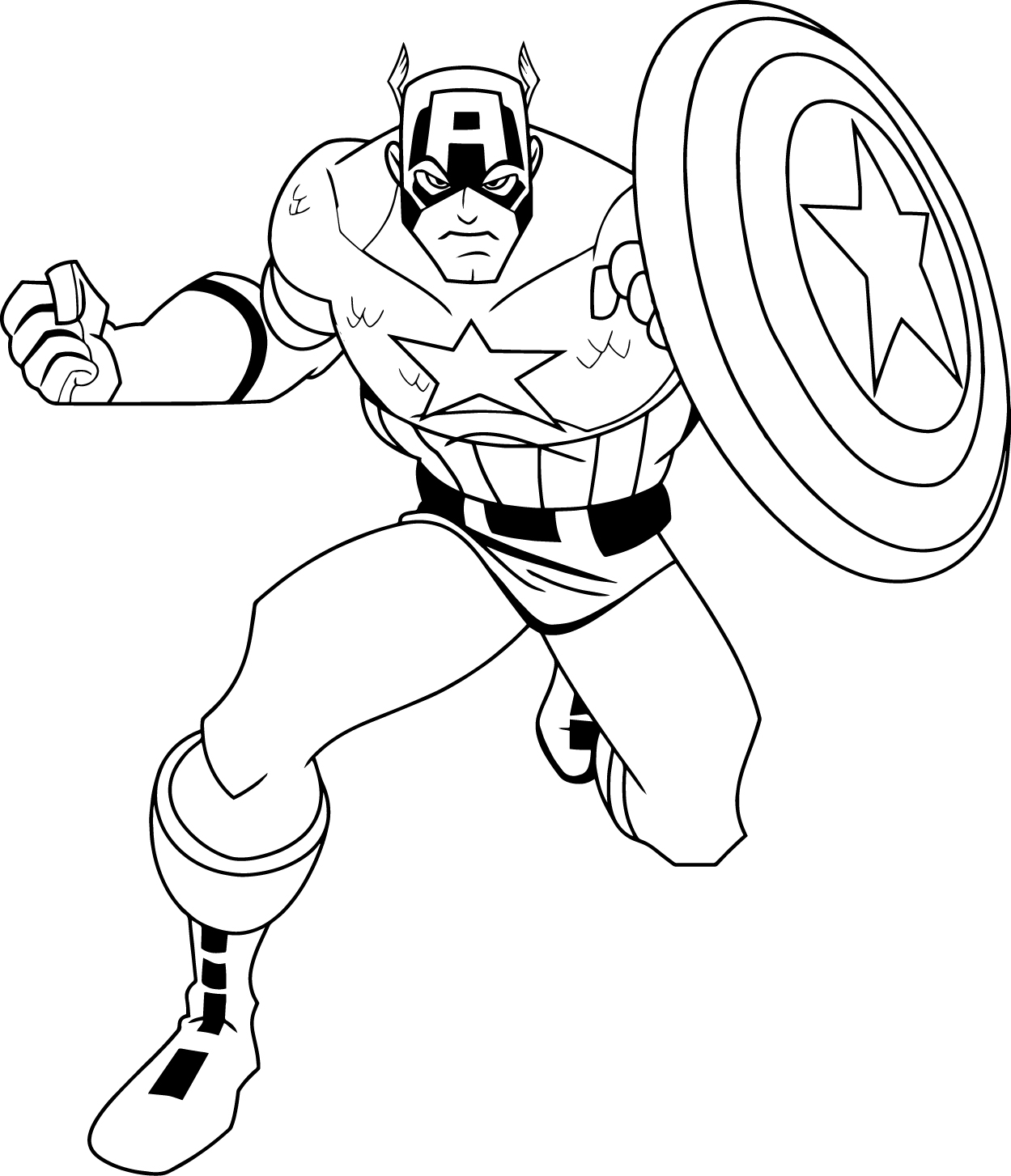 Captain America Coloring Pages To Download And Print For Free Captain America Printable Coloring Pages