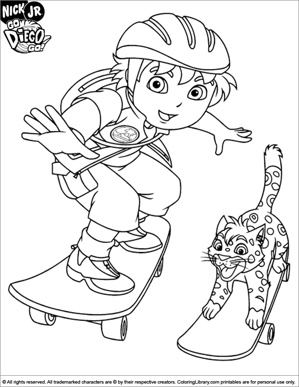 deigo coloring pages - photo#3