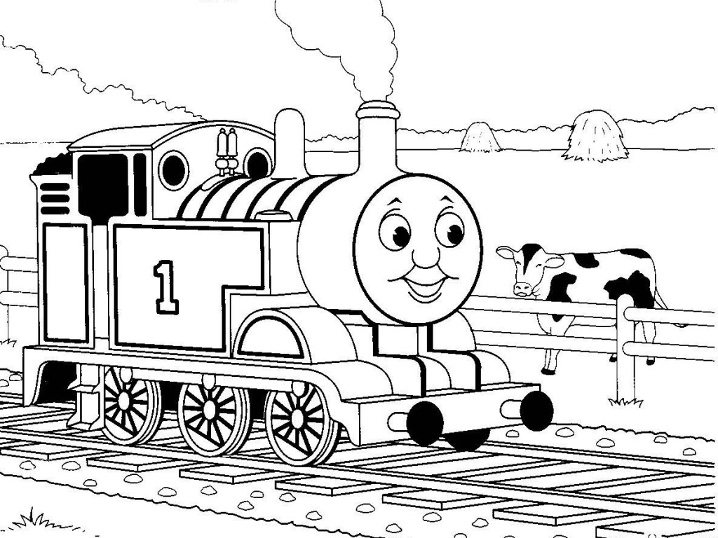 coloring pages of thomas the tank | Thomas the tank engine coloring pages to download and ...