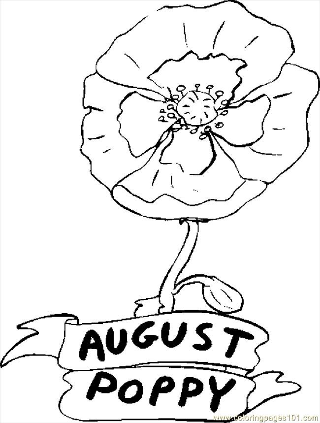 coloring pages for august - photo#8