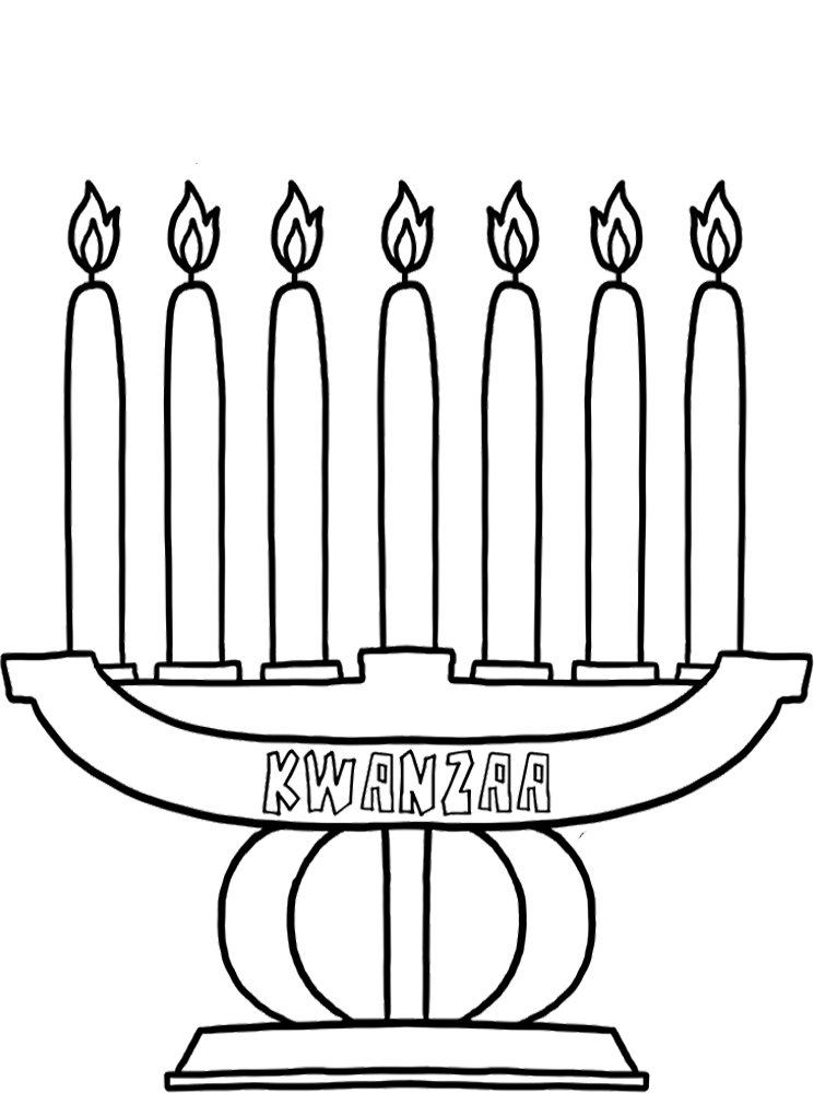 kwanzza coloring pages - photo#21