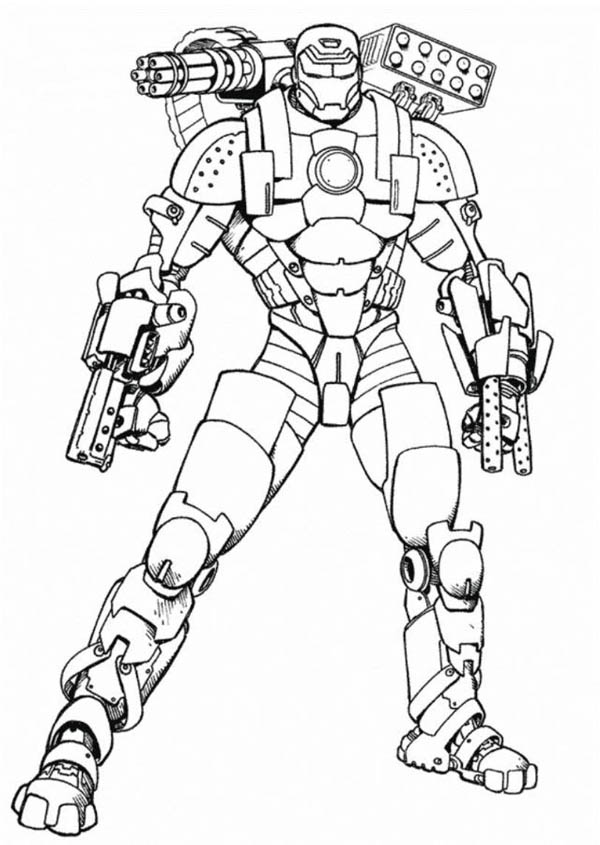 War Machine Coloring Pages Download And Print For Free War Coloring Pages