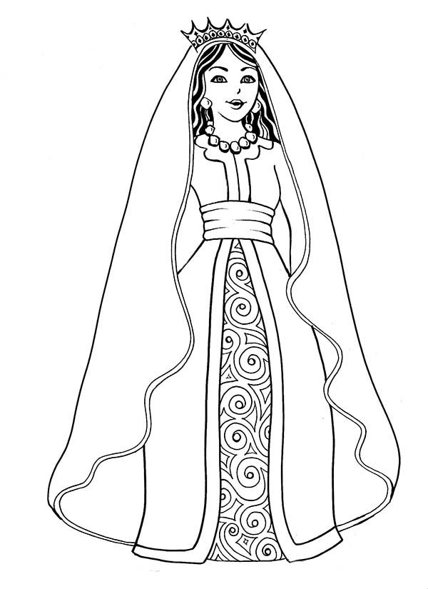 Queen coloring pages download and