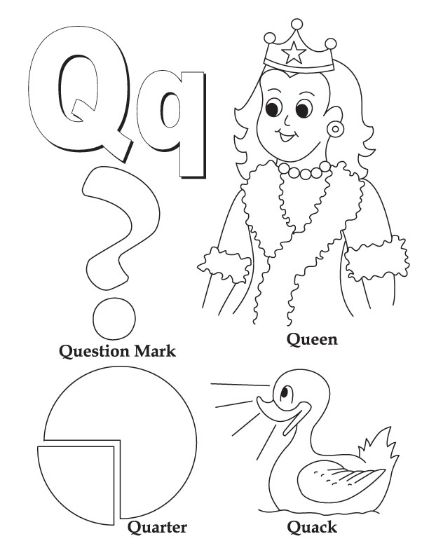 q coloring pages - photo #49