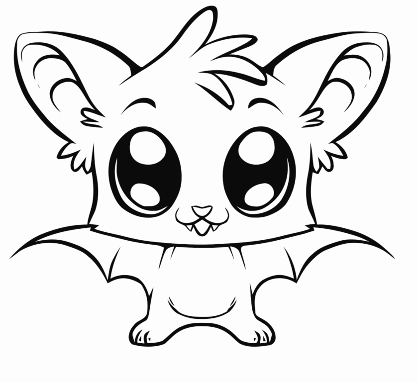 anime animals coloring pages download and print for free. Black Bedroom Furniture Sets. Home Design Ideas