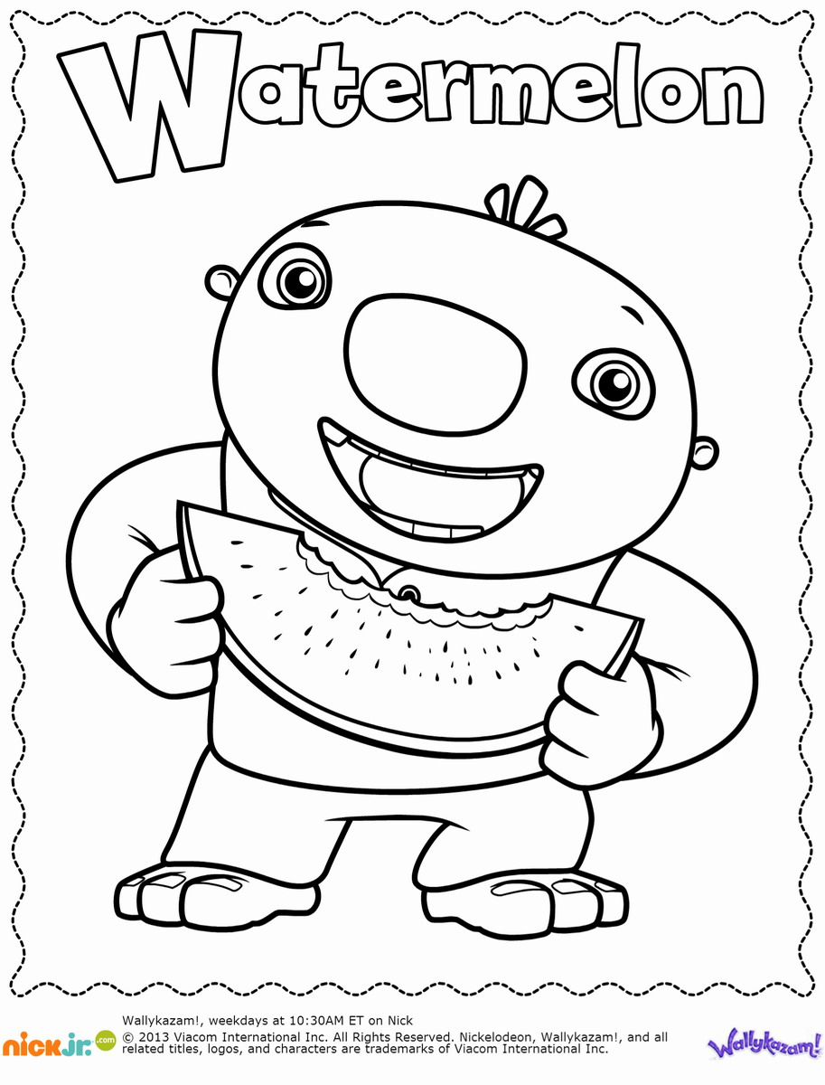 Wallykazam coloring pages download