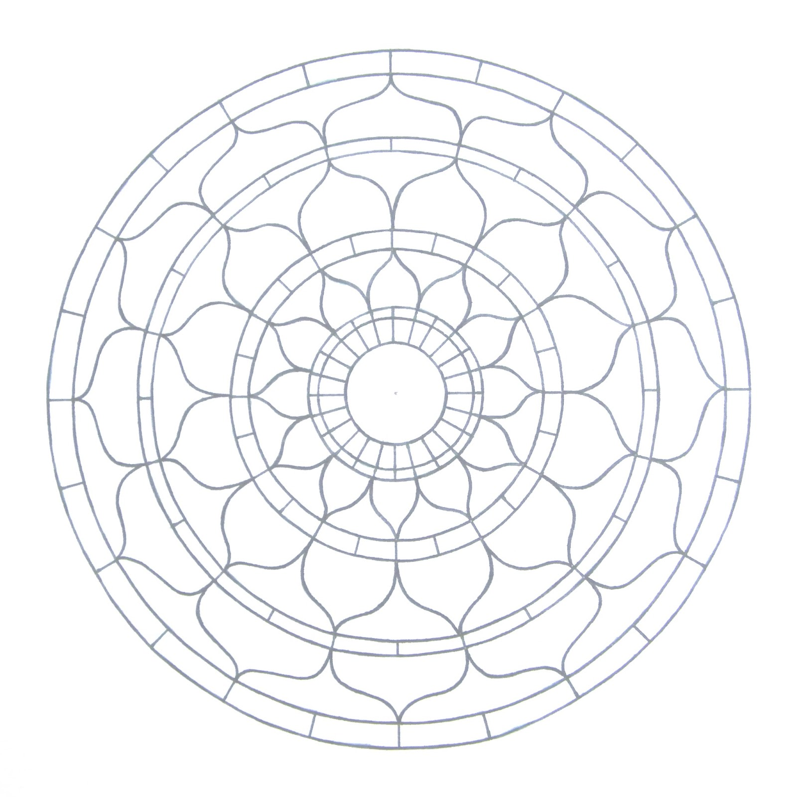 chakra mandala printable coloring pages - photo#22
