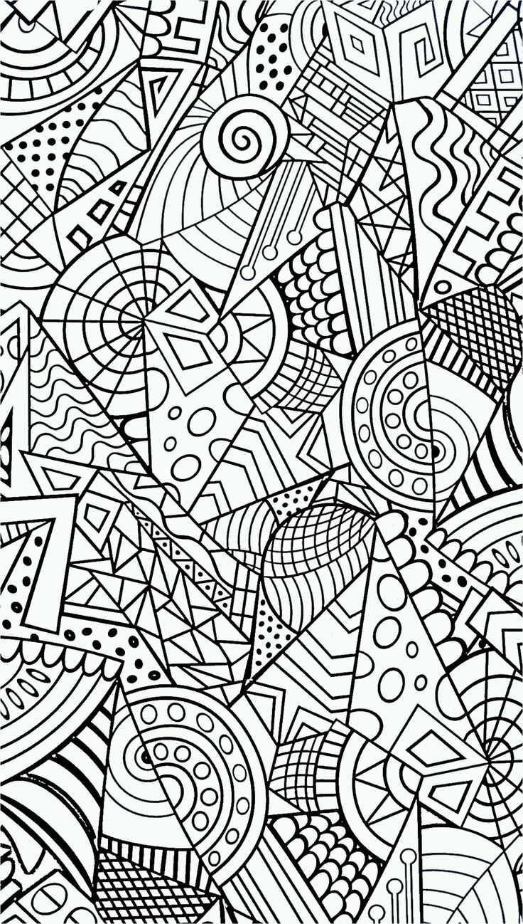 Stress coloring pages to download and print for free