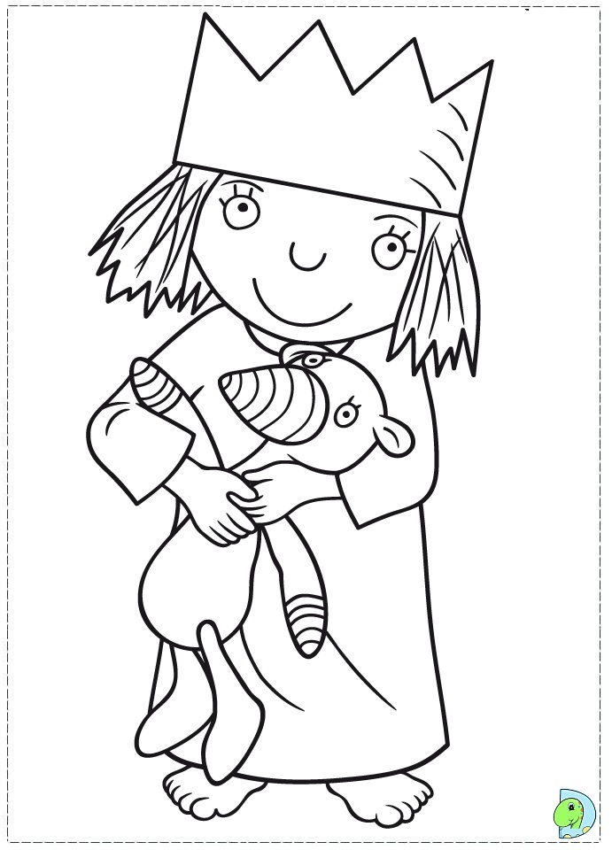 Little Princess Coloring Pages To Print : Little princess coloring pages download and print for free