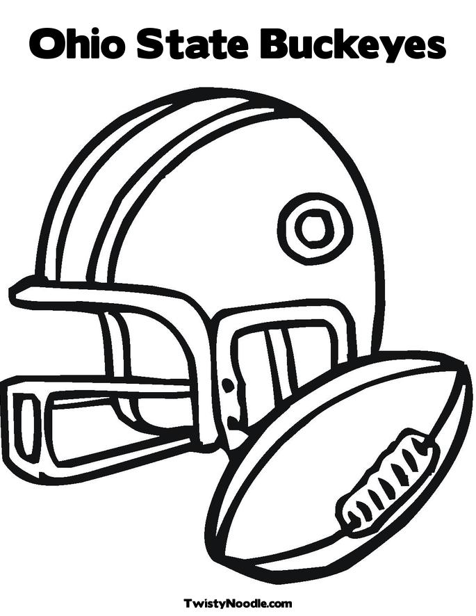 Osu football coloring pages download and print for free