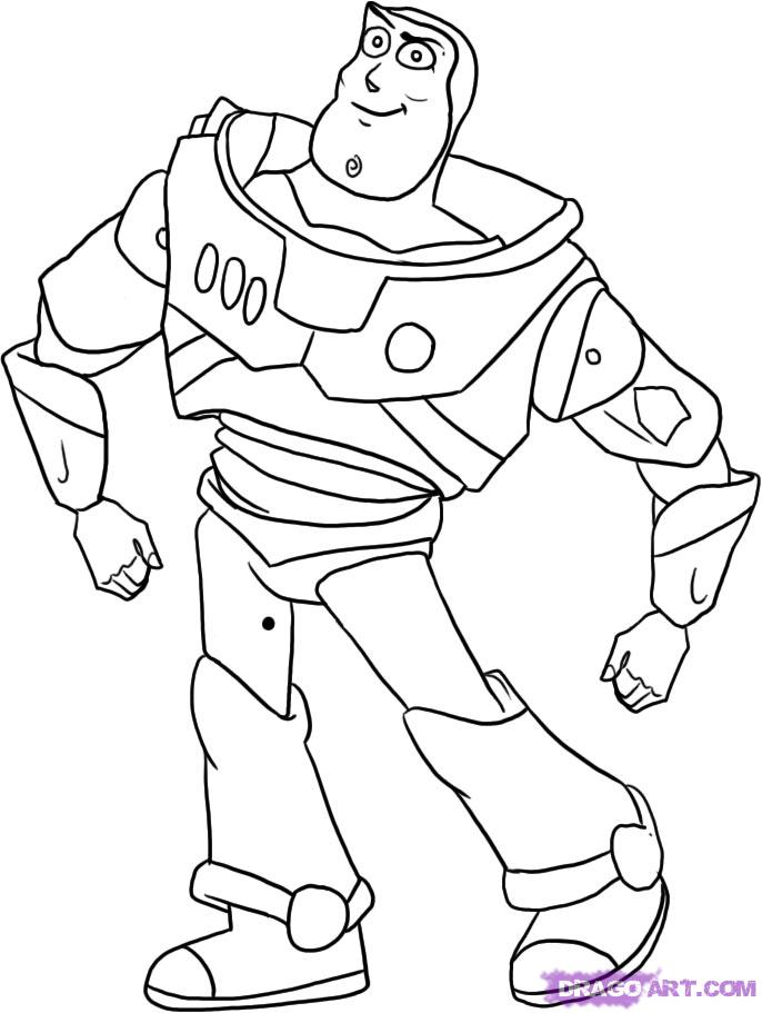 Buzz And Zurg Coloring Pages Download And Print For Free Zurg Coloring Pages