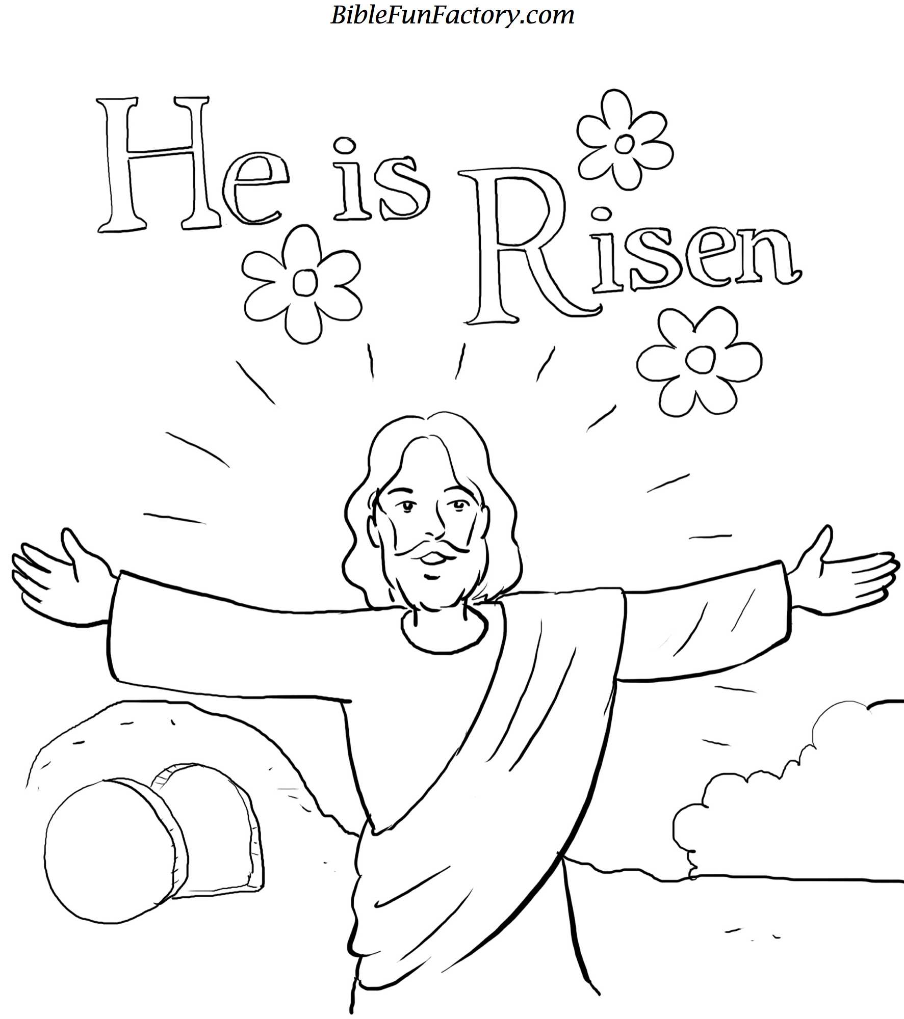 Religious Easter Coloring Pages To Download And Print For Free Easter Color Pages
