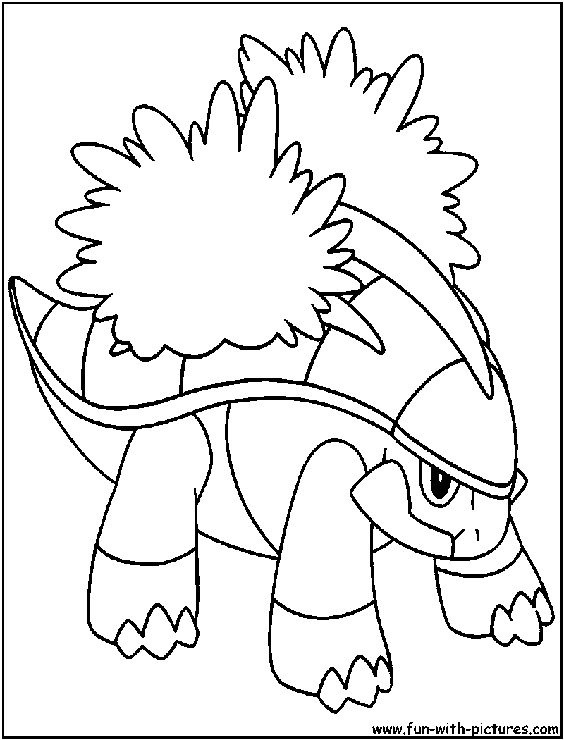 grotle coloring pages | Grotle pokemon coloring pages download and print for free