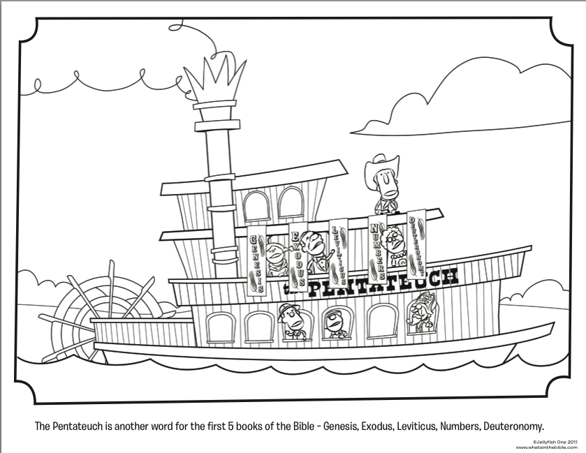 Steamboat coloring pages download and print for free