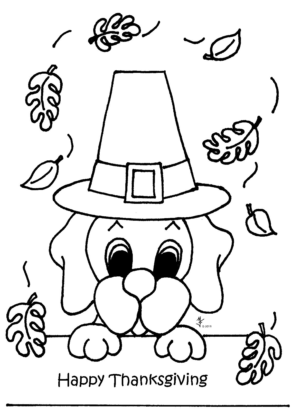 November coloring pages to download