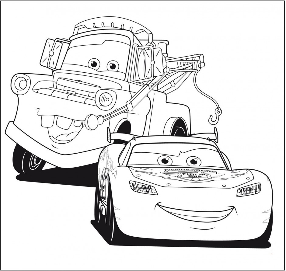 Lightning mcqueen coloring pages to download and print for free