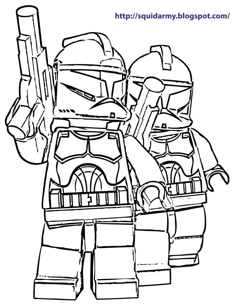 lego coloring pages - photo#23