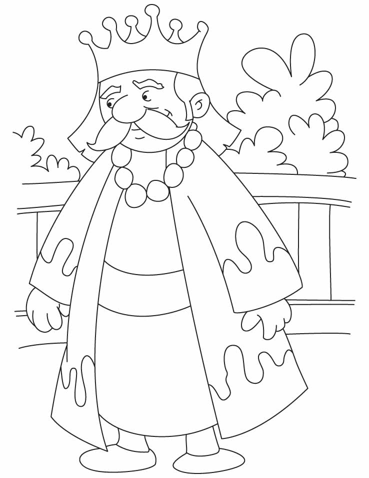 Coloring Pages King : King coloring pages to download and print for free