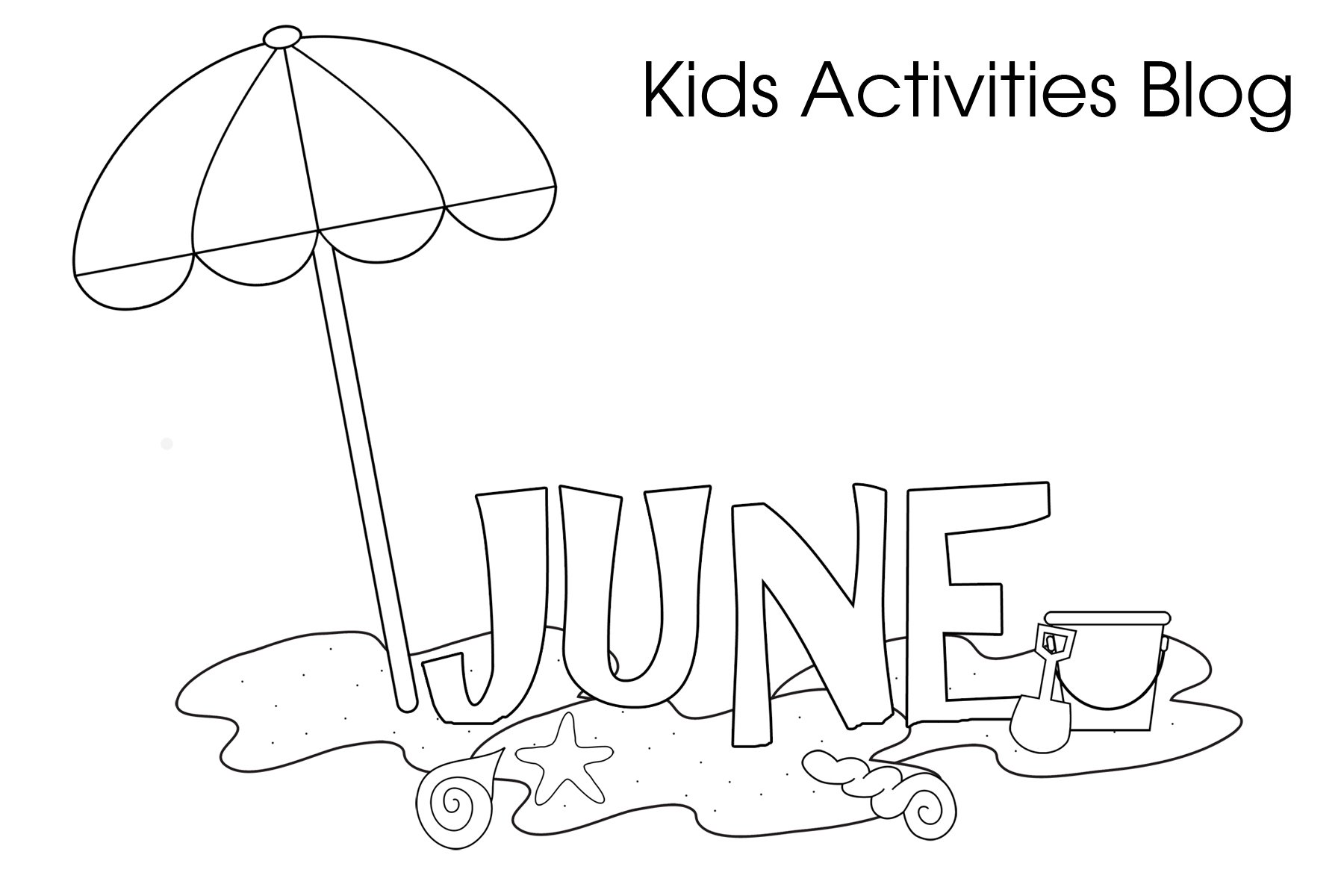 Free coloring pages for june - Free Coloring Pages For June 0