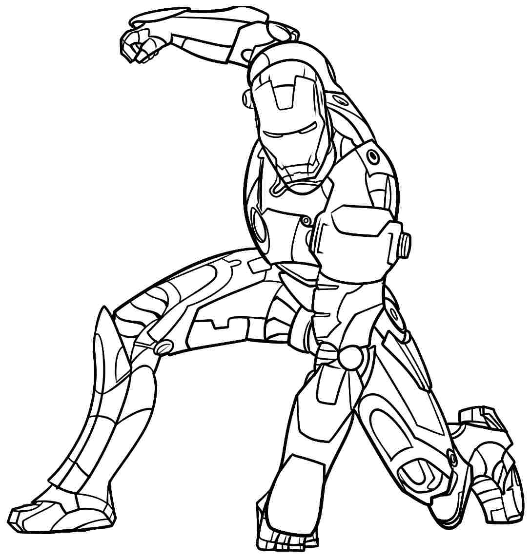 ironman coloring pages to download and print for free