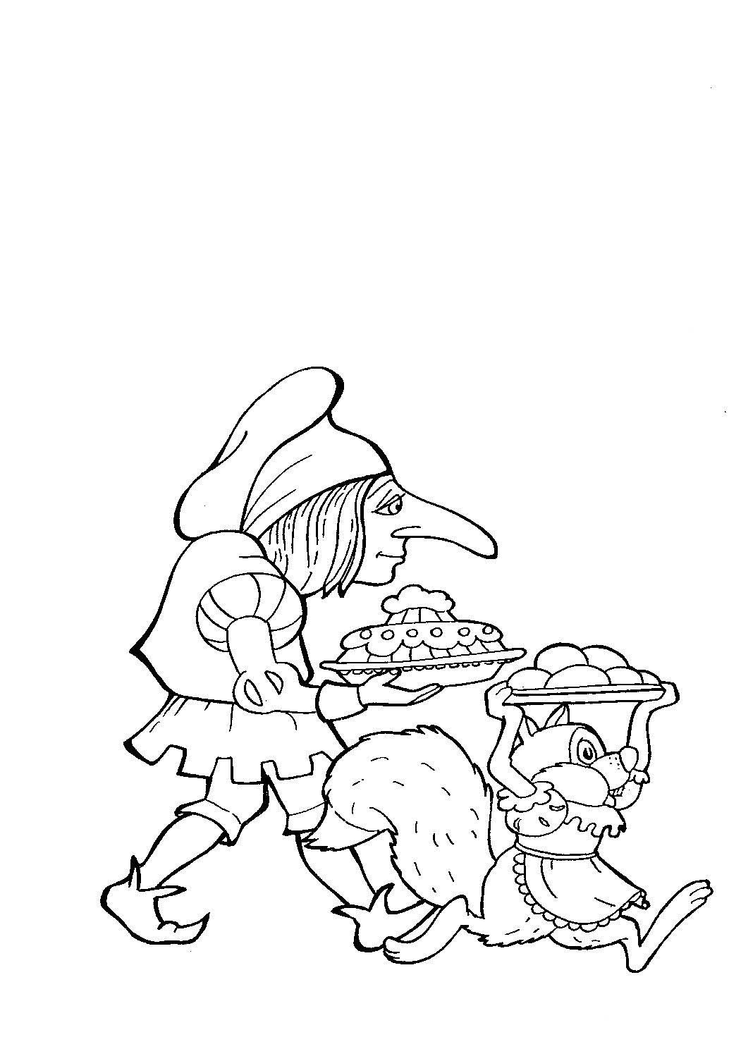 Dwarf nose coloring pages to download