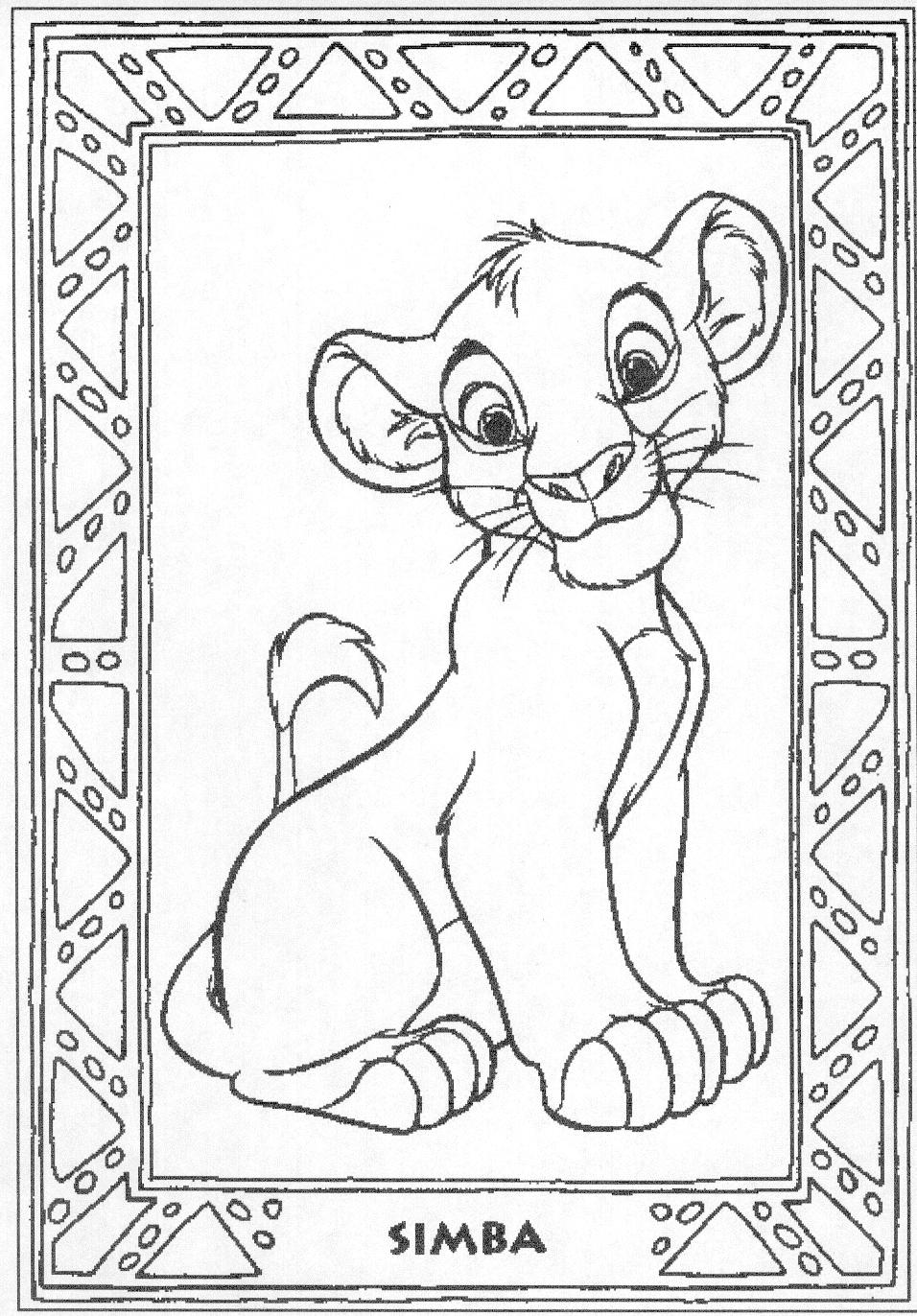 disney king coloring pages and print for free