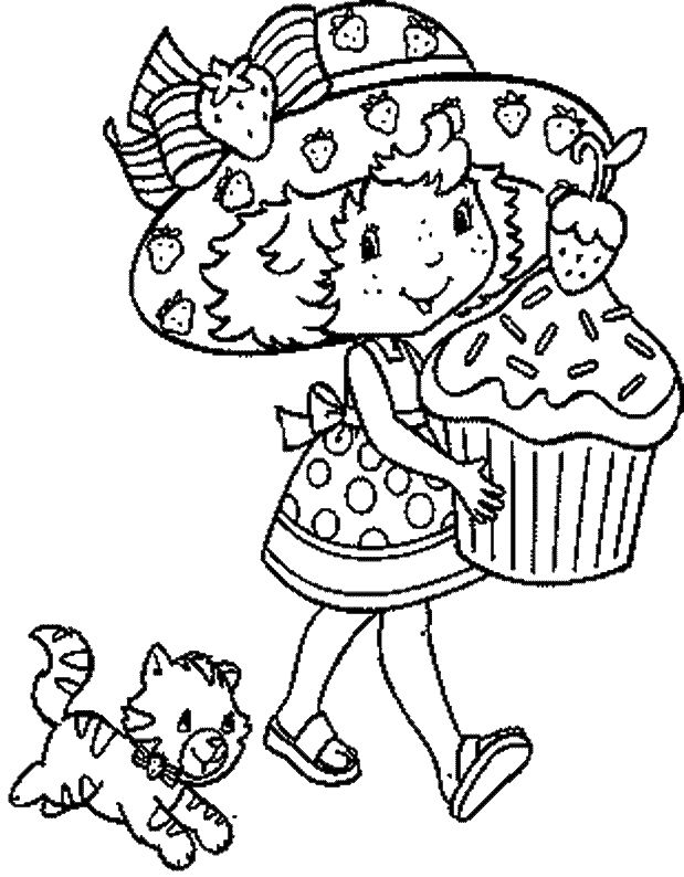 Berrykins Coloring Pages