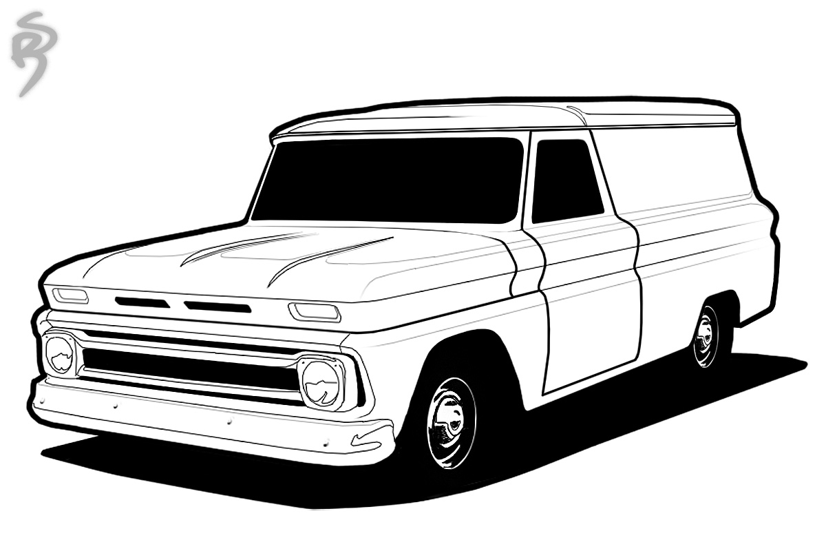 Chevy Cars Coloring Pages Download And Print For Free