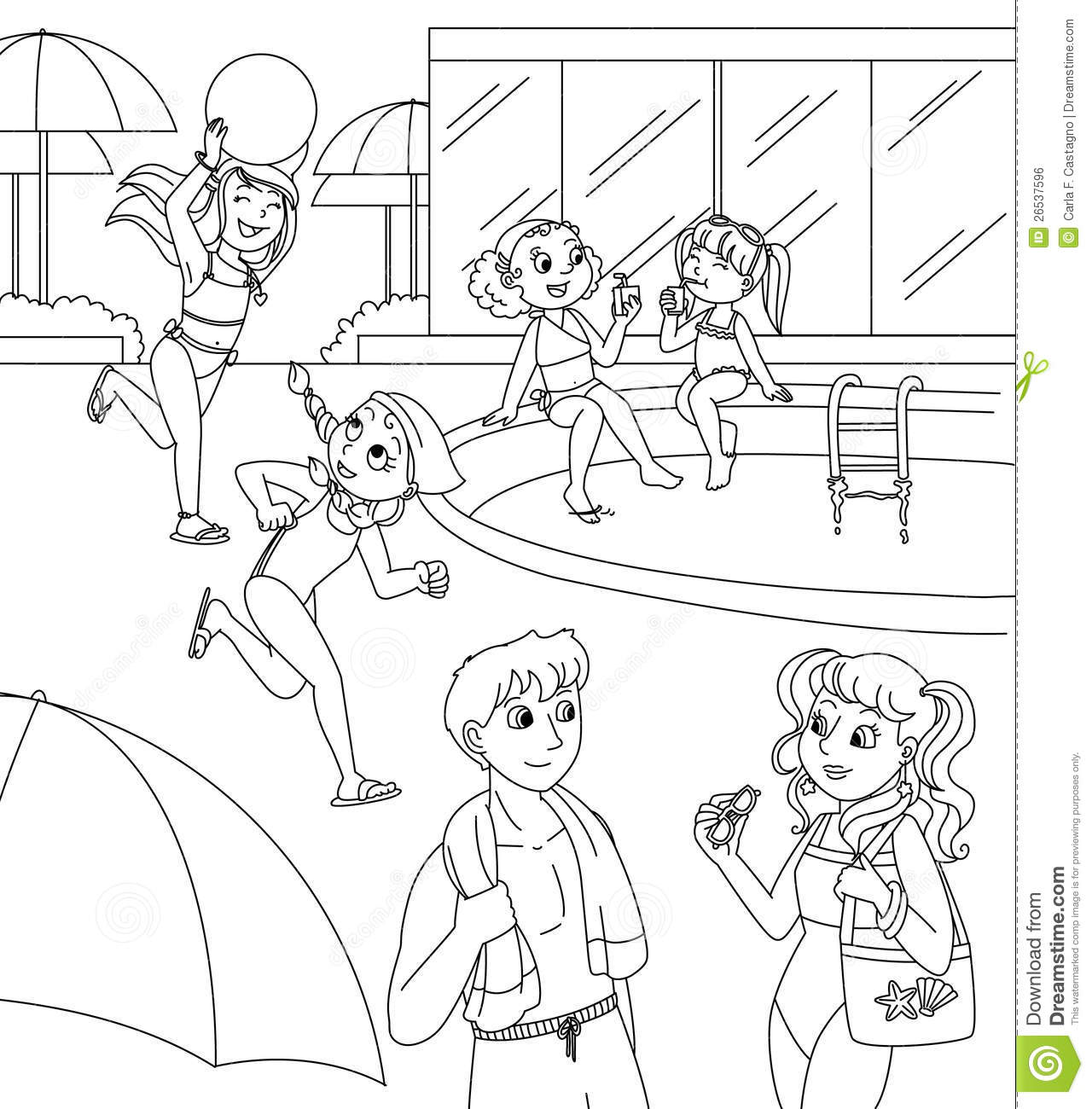water sports coloring pages printable games. swimming coloring ...