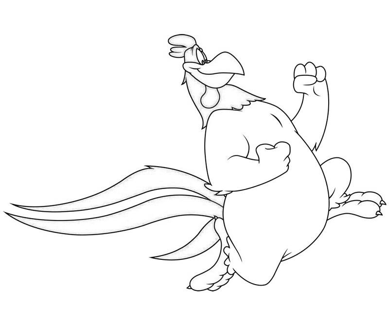 Foghorn Leghorn Coloring Pages Download And Print For Free