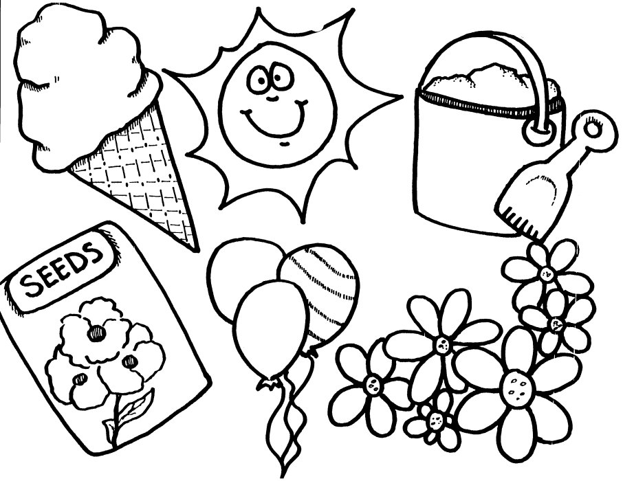 spring coloring pages - April Coloring Pages Toddlers