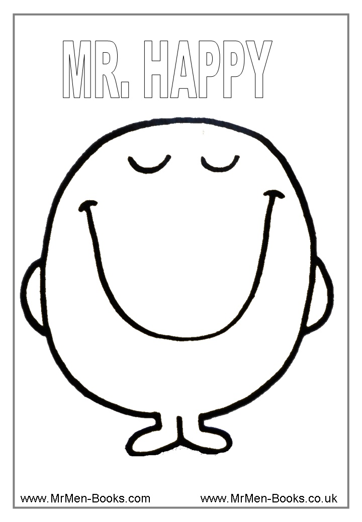 free printable emotions coloring pages - photo#17