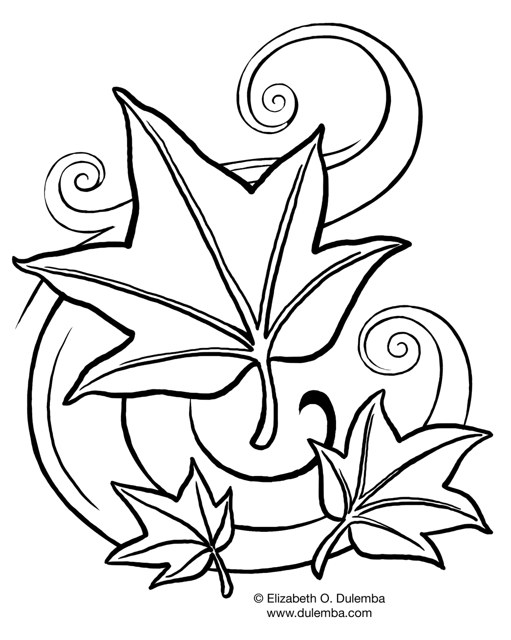 september printable coloring pages - photo#13