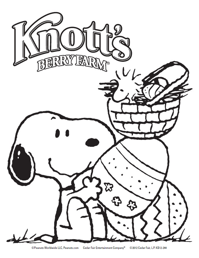 This is an image of Nifty Snoppy Coloring Pages