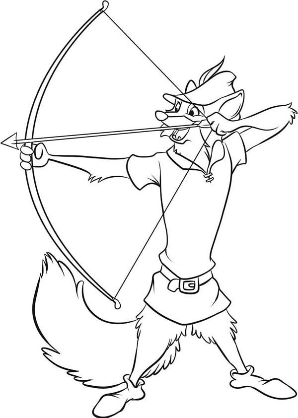 disney coloring pages robin hood - photo#17