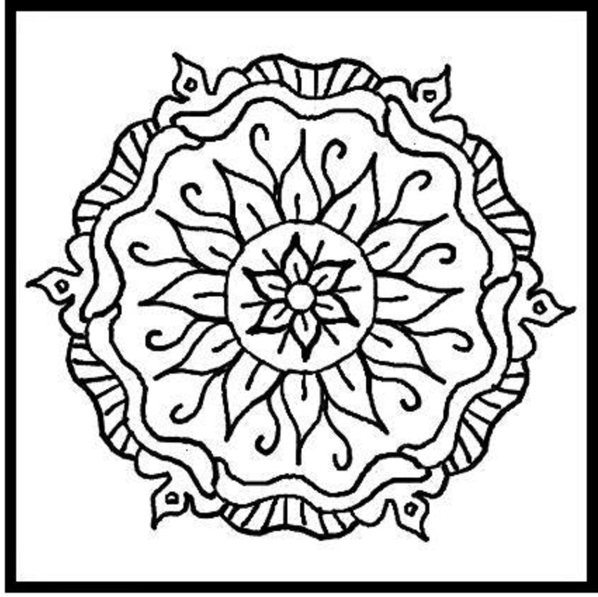 aztec coloring pages letter a - photo#6