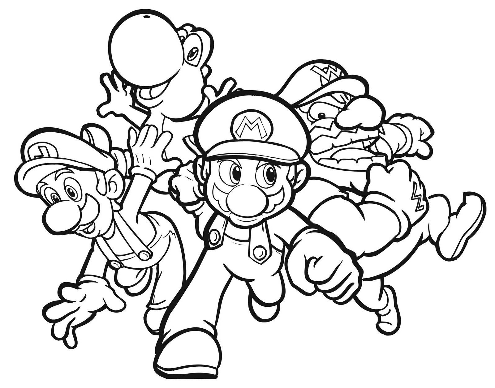 Coloring pages for kids mario bros - Coloring Pages Mario Kart Coloring Pages Mario And Luigi Coloring Page Futpal Com Pages Printable Pages