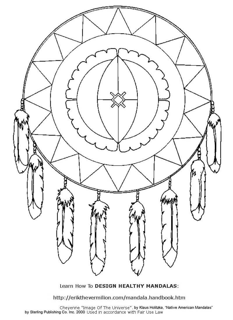 printable indian mandalas coloring pages - photo#29