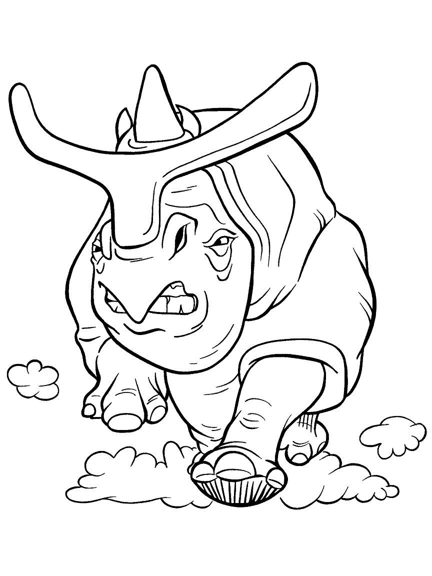 Ice age coloring pages to download