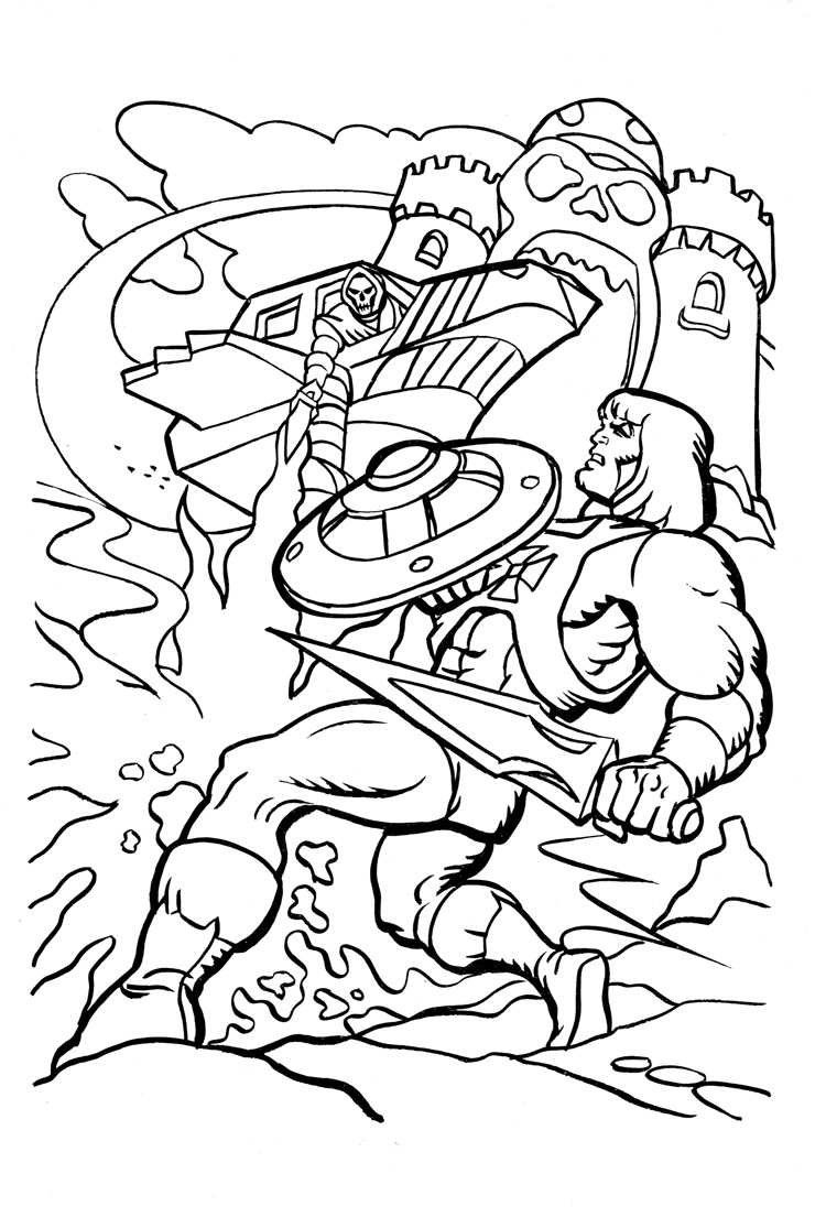 he man coloring pages - Thunder Cats Coloring Book Pages