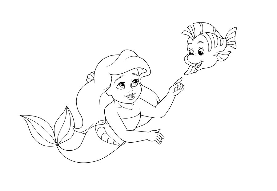 Flounder Coloring Pages To Download And Print For Free