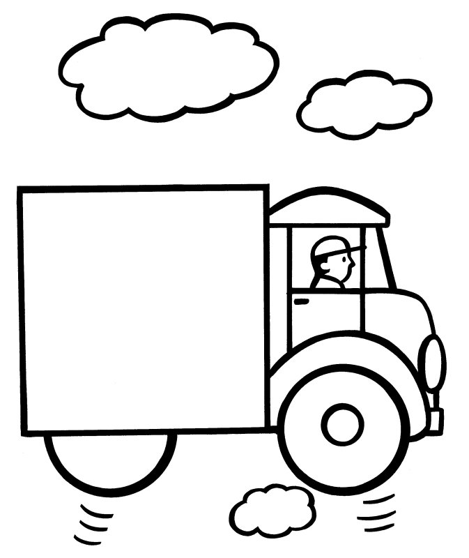 Easy Coloring Pages To Download And Print For Free
