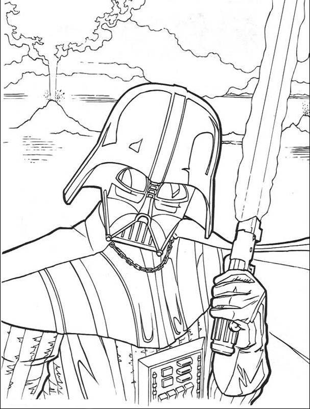 darth vader coloring pages for kids | Darth vader coloring pages to download and print for free