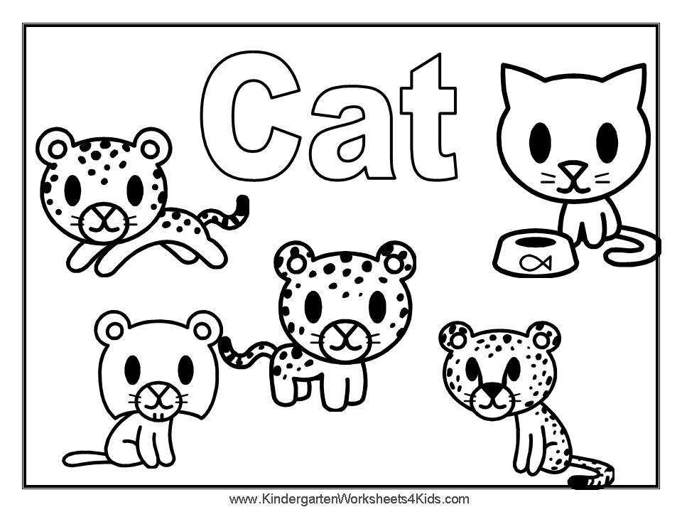 Free Cat And Dog Coloring Pages To Print Coloring Coloring Pages