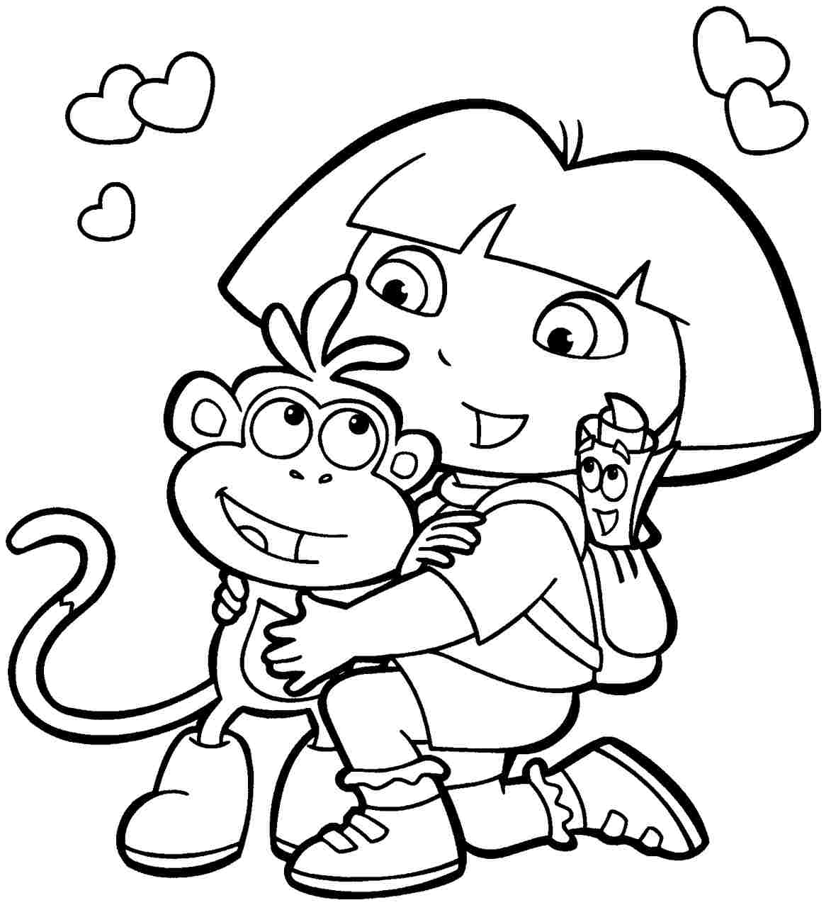 Coloring Pages Cartoon Coloring Pages Free free cartoon coloring pages futpal com futpal