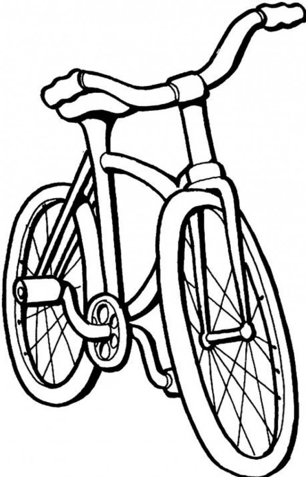 coloring pages of bikes - photo#36