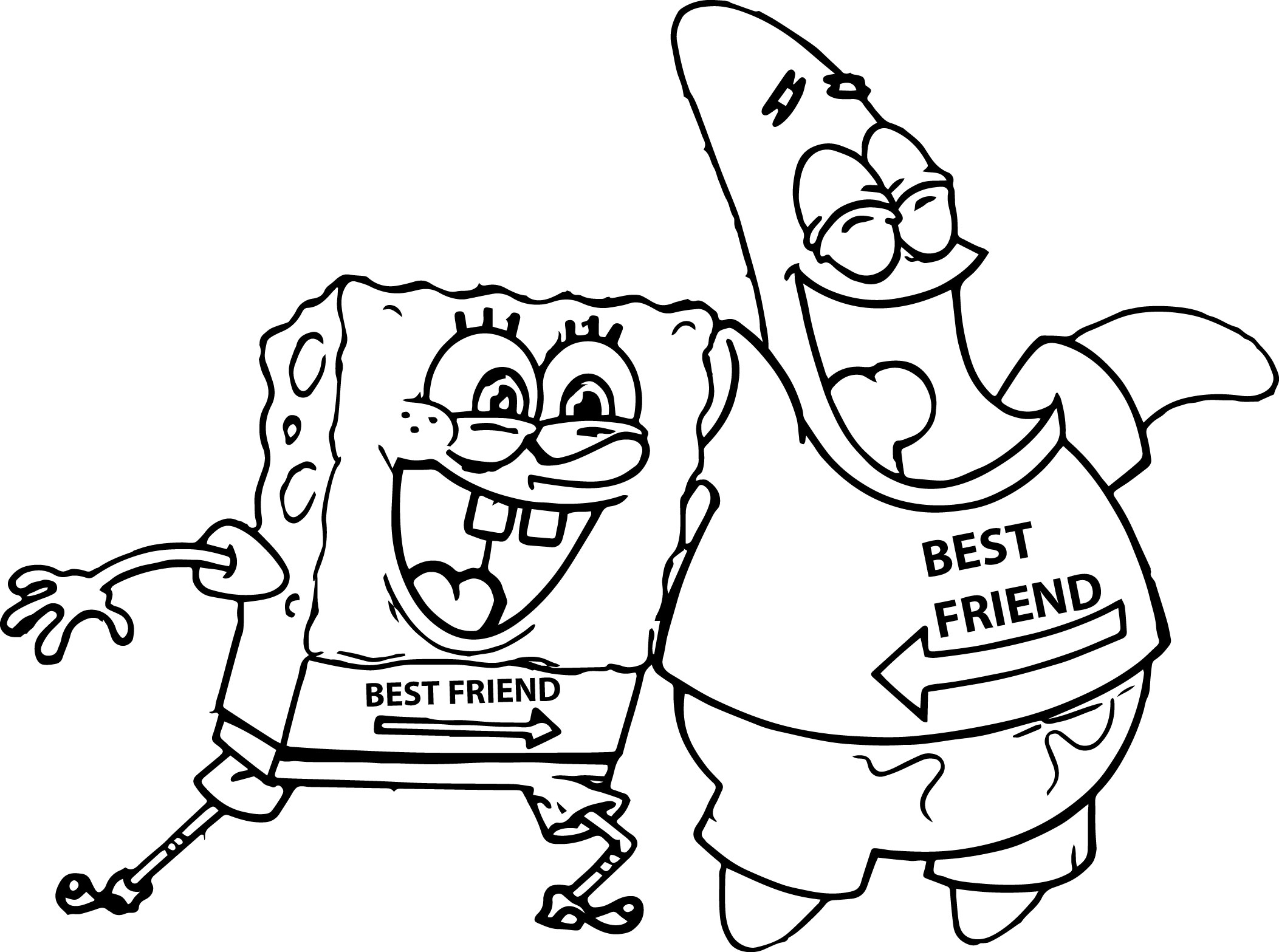 Best friend coloring pages to download and print for free for Friends coloring pages for preschoolers