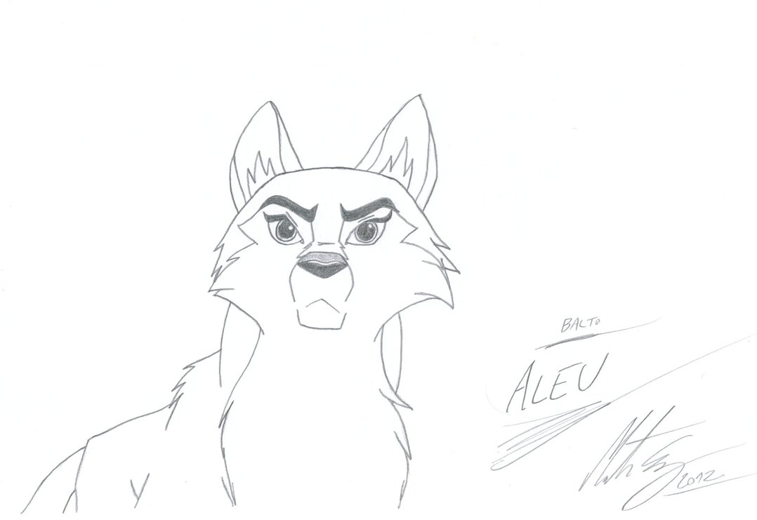 Balto coloring pages to download