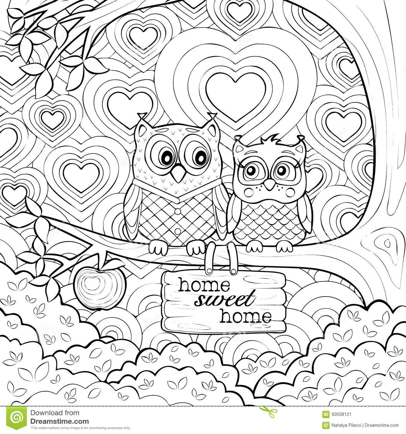 Coloring Pages Art : Art therapy coloring pages to download and print for free